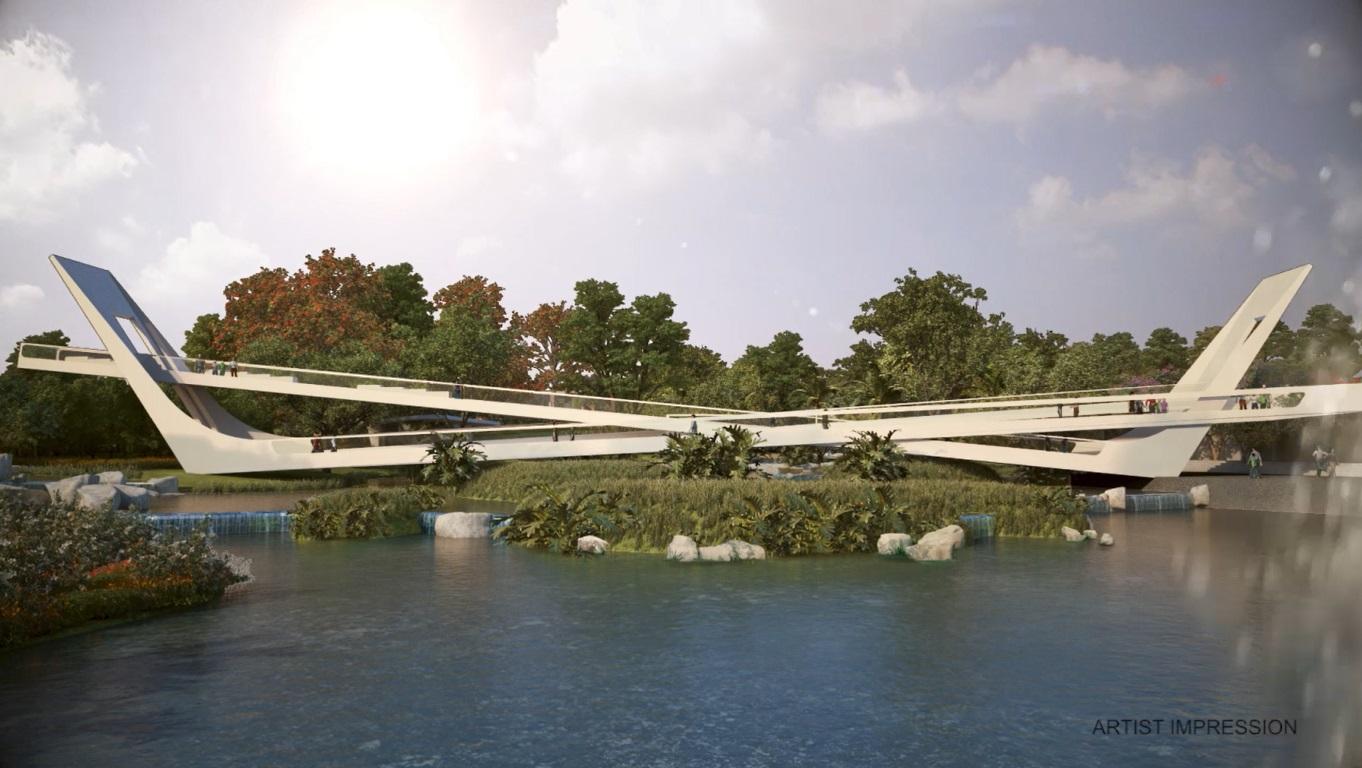 Iconic X Bridge